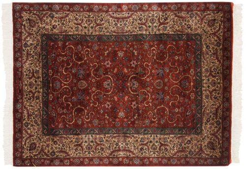 4×5 Persian Rust Oriental Rug 021460