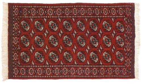 4×5 Persian Yomud Red Oriental Rug 020211