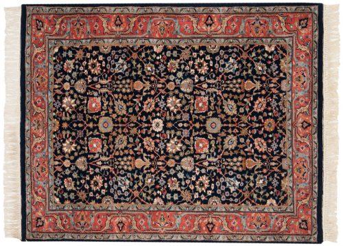 4×5 Tabriz Blue Oriental Rug 016263