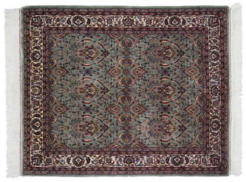 4×5 Yezd Green Oriental Rug 034258