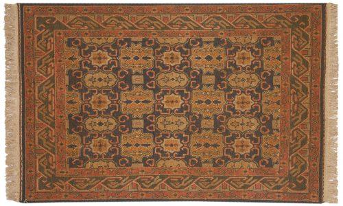 4×6 Agra Blue Oriental Rug 012786