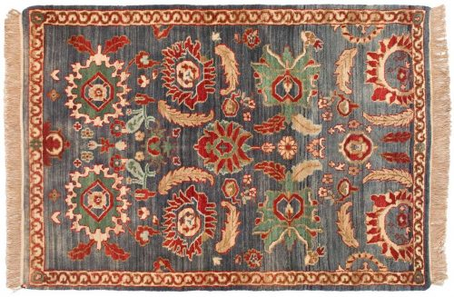 4×6 Agra Blue Oriental Rug 037549