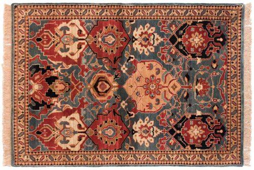 4×6 Agra Blue Oriental Rug 038427