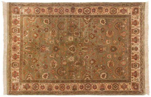 4×6 Agra Green Oriental Rug 037963