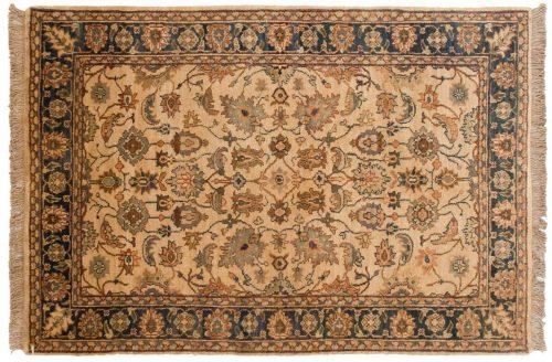4×6 Agra Ivory Oriental Rug 037965
