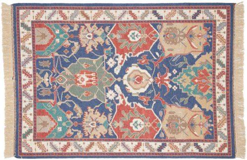 4×6 Agra Multi Color Oriental Rug 012749