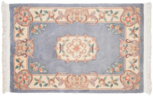 4×6 Aubusson Blue Oriental Rug 019108