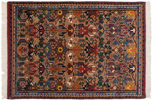 4×6 Caucasian Beige Oriental Rug 016897