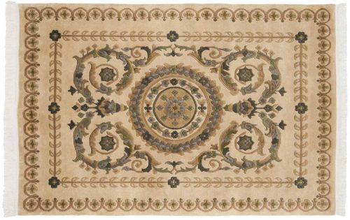 4×6 Aubusson Beige Oriental Rug 024754