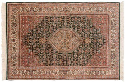 4×6 Bijar Green Oriental Rug 036098