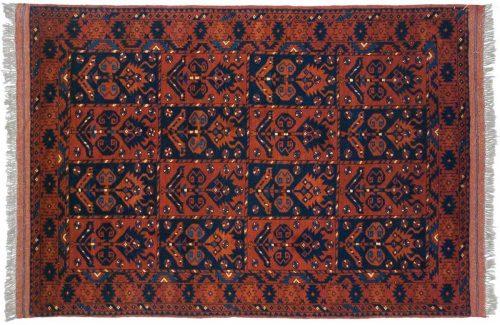 4×6 Taghan Blue Oriental Rug 025694