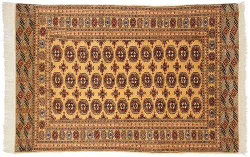 4×6 Bokhara Gold Oriental Rug 027656