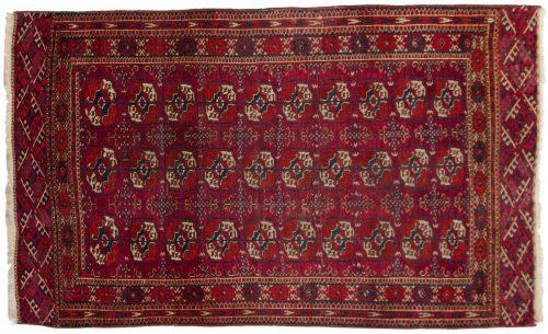 4×6 Bokhara Red Oriental Rug 013585