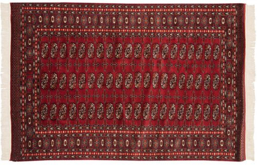 4×6 Bokhara Red Oriental Rug 013729