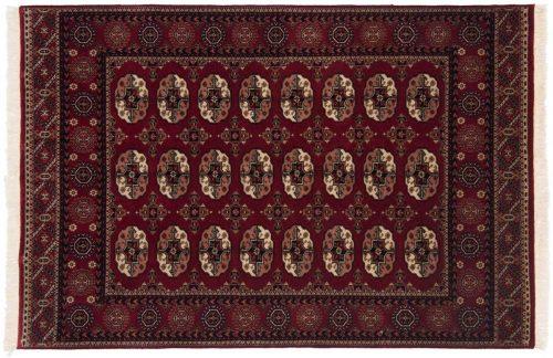 4×6 Bokhara Red Oriental Rug 044663