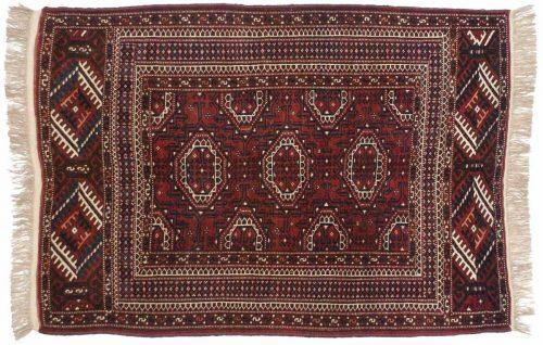 4×6 Bokhara Rose Oriental Rug 014027