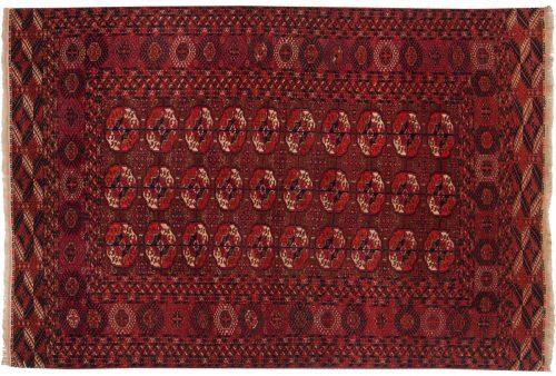 4×6 Bokhara Rust Oriental Rug 014022