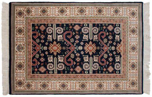 4×6 Caucasian Blue Oriental Rug 016725