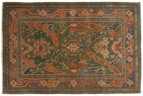 4×6 Caucasian Green Oriental Rug 012717