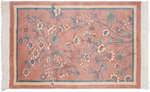 4×6 Kashan Peach Oriental Rug 029129