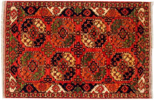 4×6 Ersari Rust Oriental Rug 048873