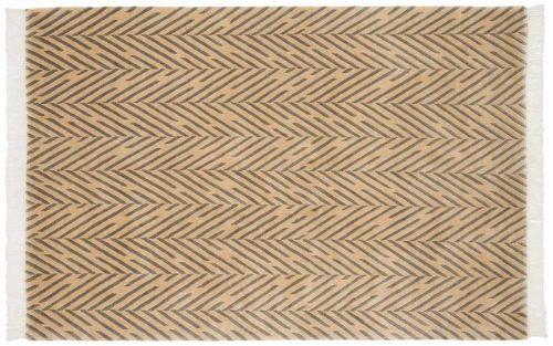 4×6 Modern Gold Oriental Rug 036848