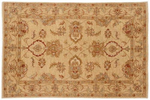 4×6 Caicasian Gold Oriental Rug 042520