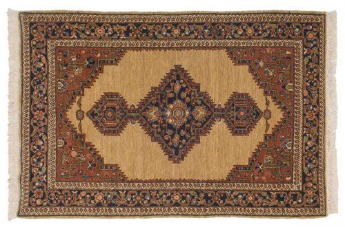 4×6 Hamadan Beige Oriental Rug 020865