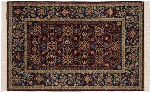 4×6 Hamadan Burgundy Oriental Rug 020738