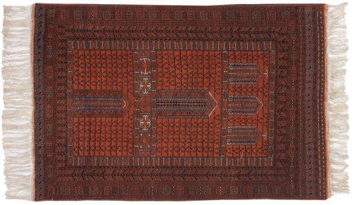 4×6 Hatchli Brown Oriental Rug 013670