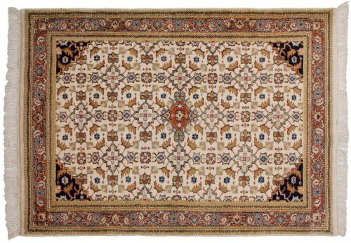 4×6 Herati Ivory Oriental Rug 022340