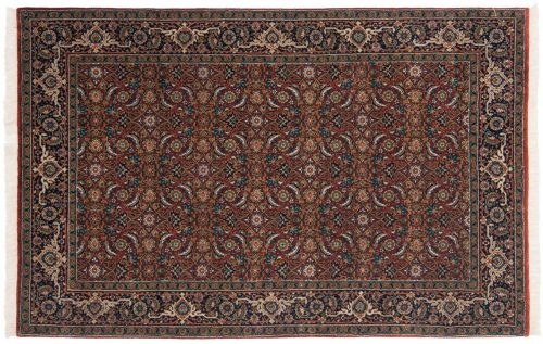 4×6 Herati Rust Oriental Rug 044667