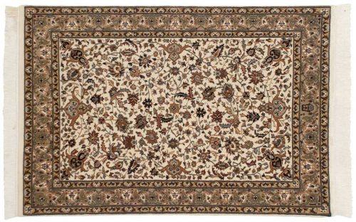4×6 Isfahan Ivory Oriental Rug 039082