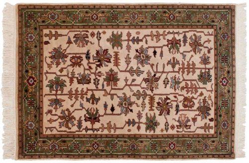 4×6 Heriz Ivory Oriental Rug 036507
