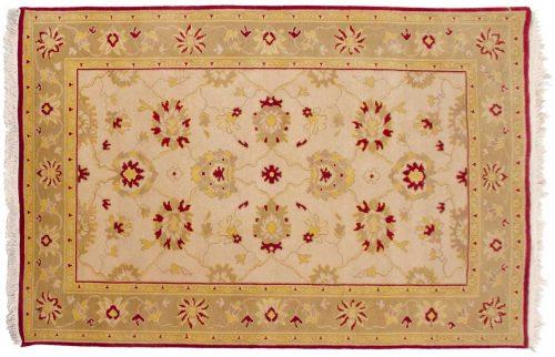 4×6 Agra Ivory Oriental Rug 039279
