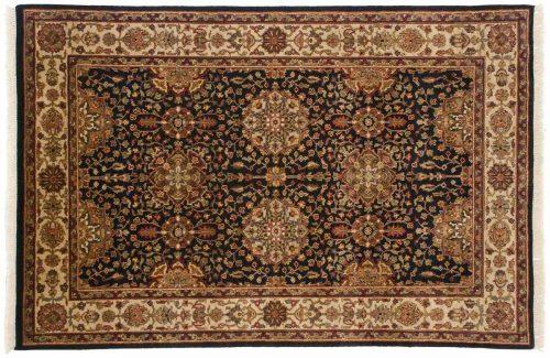 4×6 Jaipur Black Oriental Rug 042642