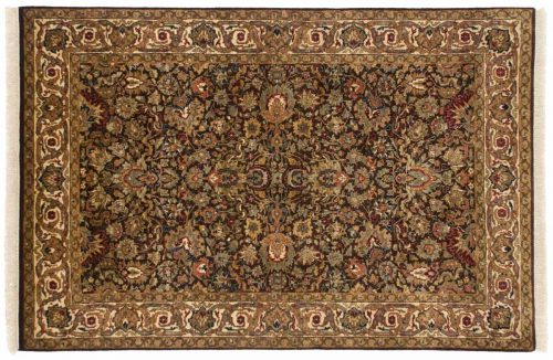 4×6 Jaipur Brown Oriental Rug 042640