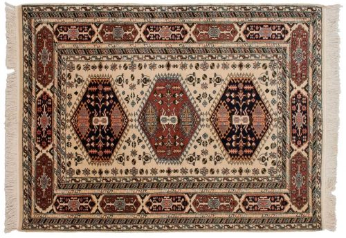 4×6 Kafkaz Ivory Oriental Rug 027726