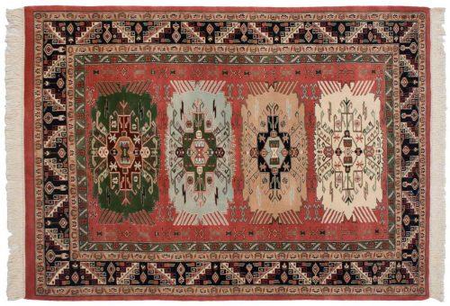 4×6 Kafkaz Red Oriental Rug 035675