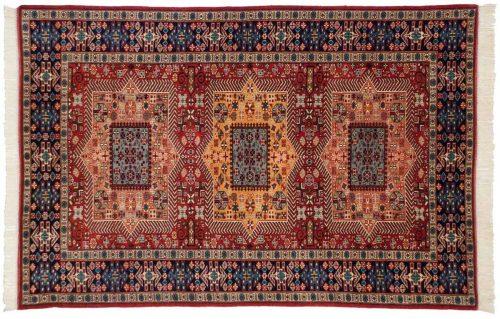 4×6 Kafkaz Red Oriental Rug 035684