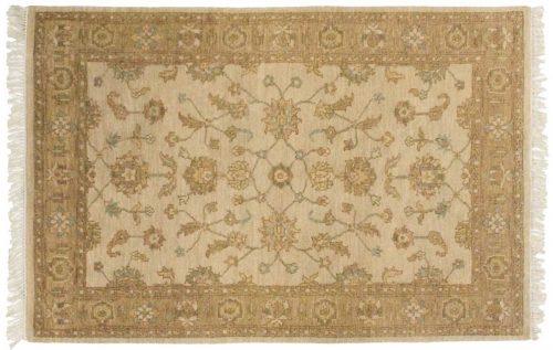 4×6 Kashan Beige Oriental Rug 045933