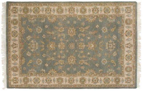 4×6 Kashan Blue Oriental Rug 045946