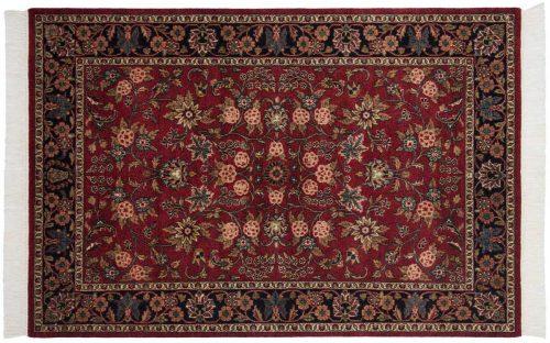 4×6 Kashan Burgundy Oriental Rug 046890