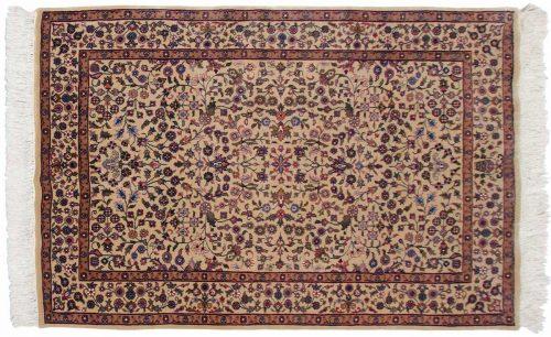 4×6 Kashan Gold Oriental Rug 031866