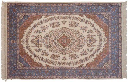 4×6 Kashan Ivory Oriental Rug 015709