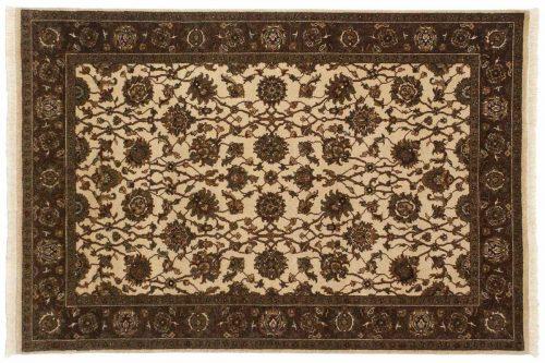 4×6 Kashan Ivory Oriental Rug 042551