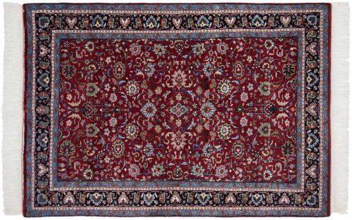 4×6 Kashan Red Oriental Rug 034176