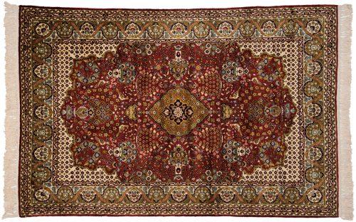 4×6 Kashmir Red Oriental Rug 013128