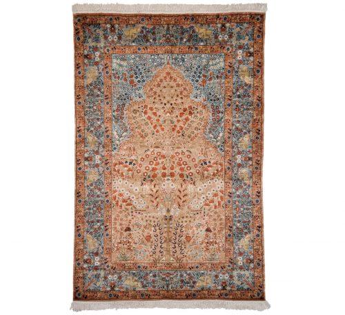 4×6 Kashmir Rose Oriental Rug 013261