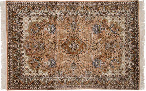 4×6 Kashmir Rose Oriental Rug 013266